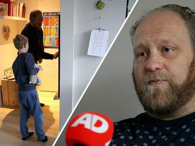 Arno zoekt een donornier: 'Ik wil met mijn zoontje blijven spelen'