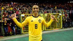 """Tielemans, bewierookt door Hazard, na eerste goal voor Duivels: """"Wie ook op het veld staat, iedereen geeft zich voor zijn land"""""""