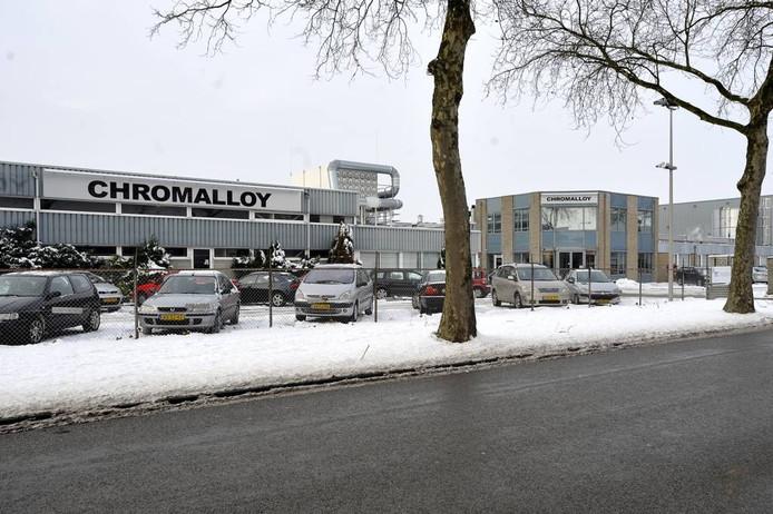 De vestiging van Chromalloy.