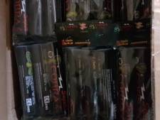 Politie vangt ruim 400 kilo aan illegaal vuurwerk in Corle