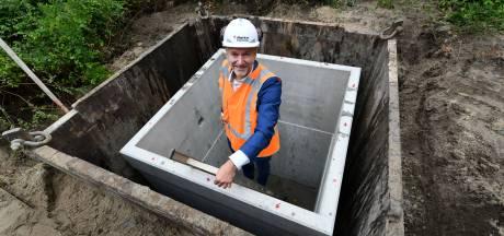 Containers voor nieuw afvalsysteem gaan de grond in