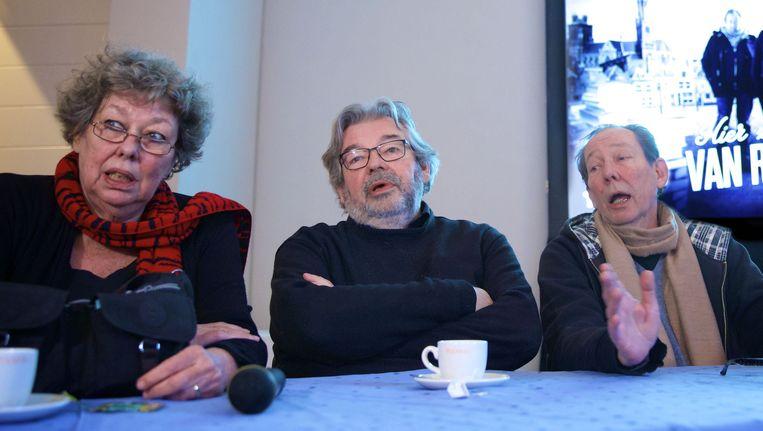 Maarten (M), Vincent en Sis van Rossem. Beeld anp