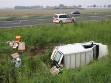 Gewonde bij eenzijdig ongeluk bij Biervliet
