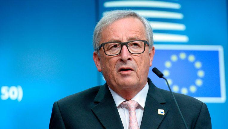 Jean-Claude Juncker. Beeld anp