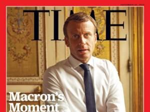 """Macron refait la Une du Time: """"La crise des 'gilets jaunes' a été très bonne pour moi"""""""