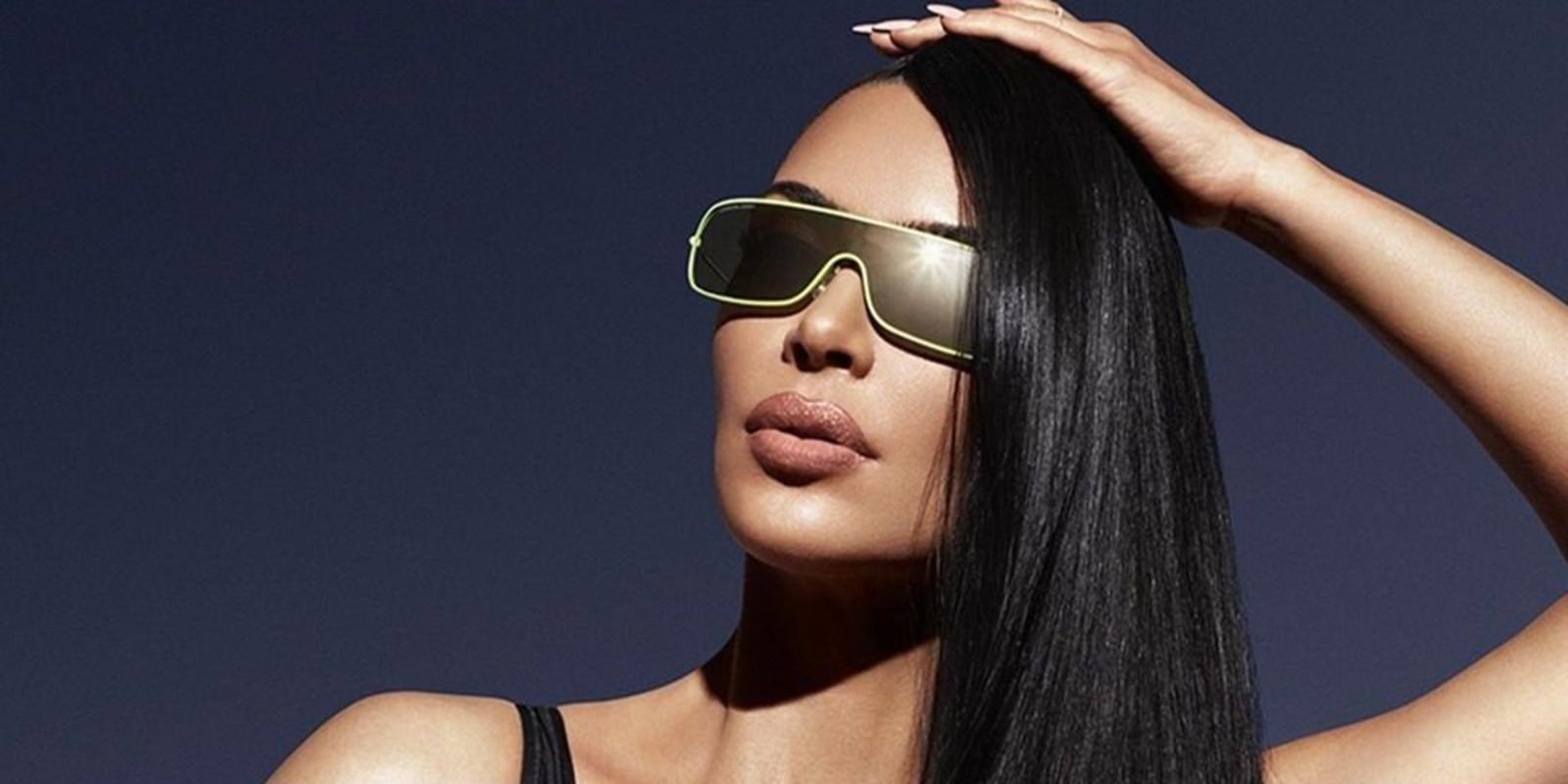 Kim Kardashian in de campagne van Carolina Lemke.
