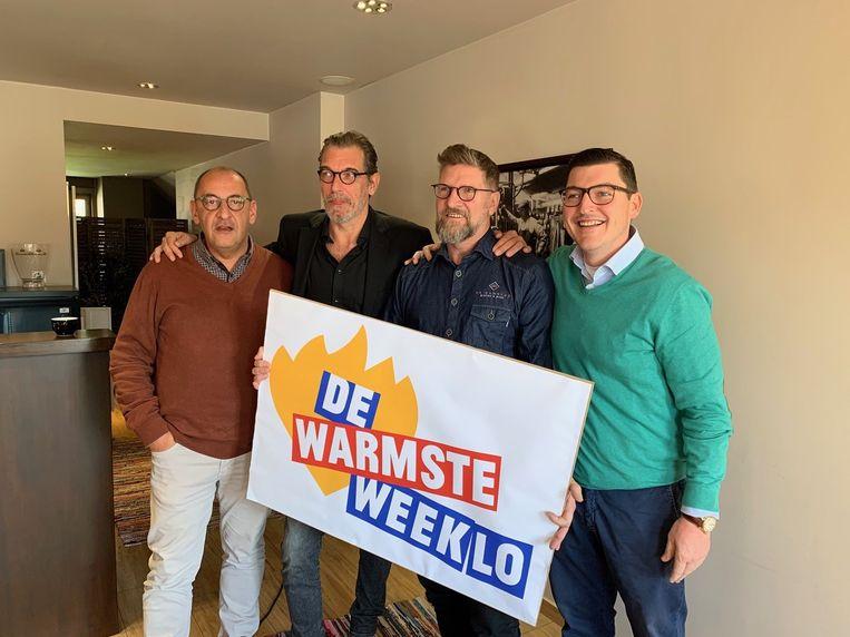 Het kerncomité van De Warmste Weeklo.