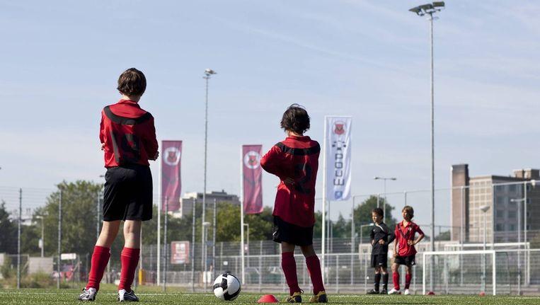 Jeugdvoetbal bij AFC. Archieffoto © Marc Driessen Beeld