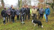 Vrijwilligers Natuurpunt aan de slag in natuurgebied Verkensmeers