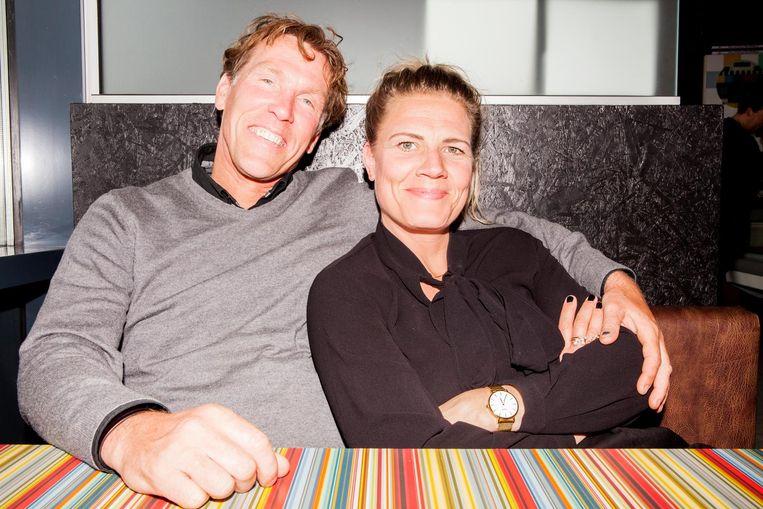Gerard den haan en Cécile Koekkoek. Beeld Marie Wanders
