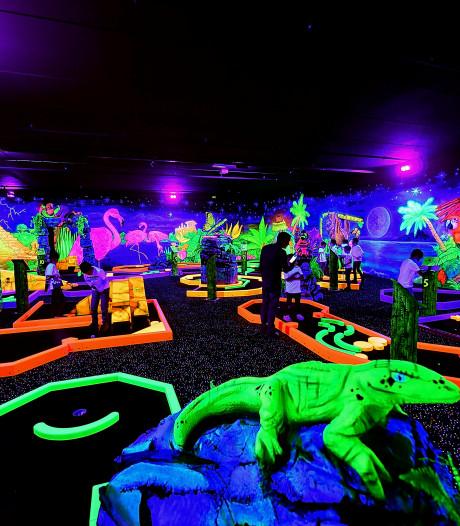 In Bergen op Zoom kun je nu ook glowgolfen