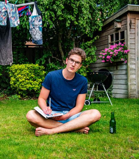 Thomas (17) houdt met poëzie gedachten op orde houden en gaat anders knokken in de boksring