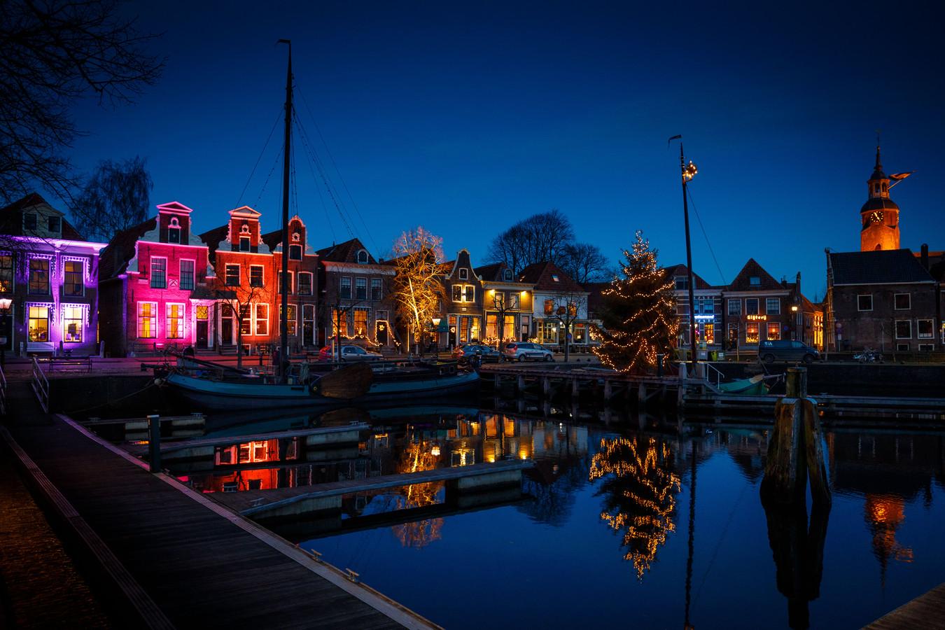 DS-2019-8950 - Blokzijl lights festival lichtjesfestival rond de kolk©Wilbert Bijzitter