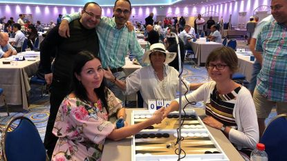 Ekselse (42) is wereldkampioen Backgammon bij de 'Beginners'