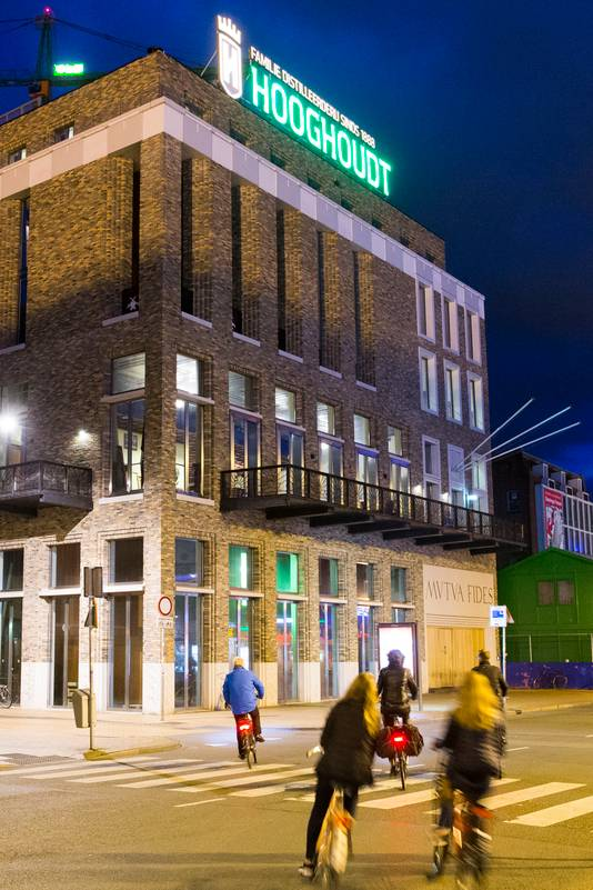Het gebouw van de Groningse studentenvereniging Vindicat in het centrum van Groningen.