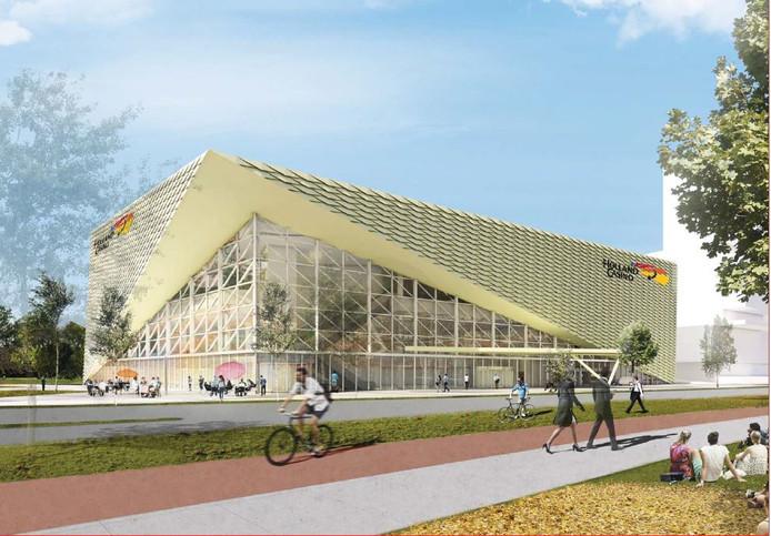 Het nieuwe Holland Casino aan de Winthontlaan.