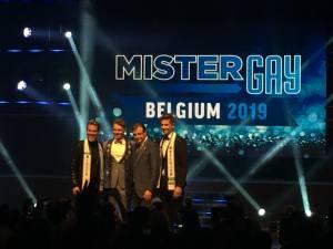 Matthias De Roover a été élu Mister Gay Belgium 2019