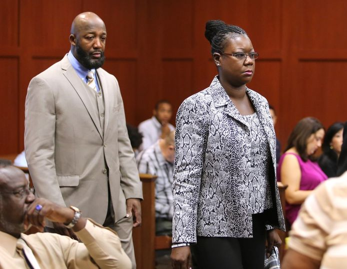 Tracy et Sybrina, les parents de Trayvon Martin