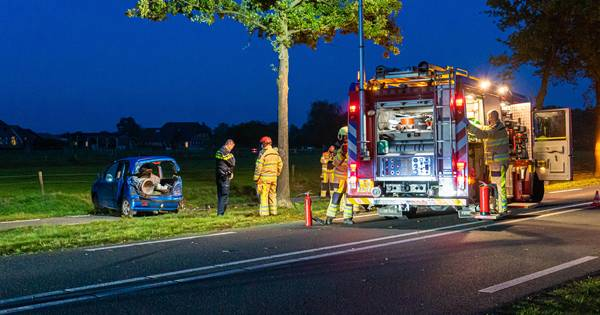Ernstig ongeval tussen Raalte en Wijhe: één persoon gewond geraakt.
