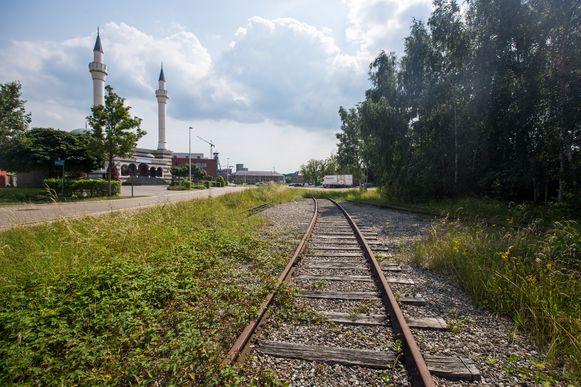 Het kolenspoor in Beringen gaat omgebouwd worden tot een  fietssnelweg