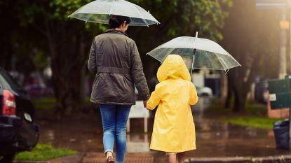 Regen en maximum 11 graden in Vlaanderen, in zuiden en oosten van het land tot 16 à 17 graden