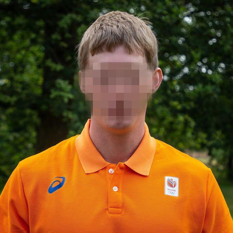 Roelf B. is in Hongarije opgepakt wegens drugshandel. Beeld Atletiek.nl