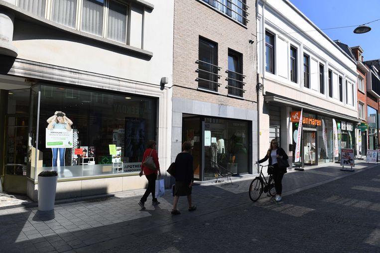 Apothekers in de Diestsestraat in Leuven