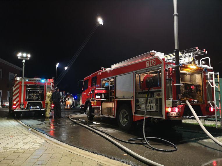 Door een snelle actie kon de brandweer na een gasontploffing erger voorkomen.
