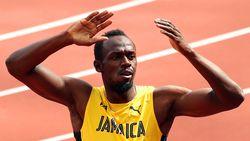 Usain Bolt mag zich opmaken voor ultiem optreden in finale 4x100 meter