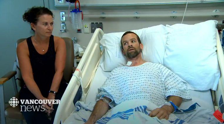 Colin Dowler is aan het herstellen in het ziekenhuis na de levensgevaarlijke aanval.