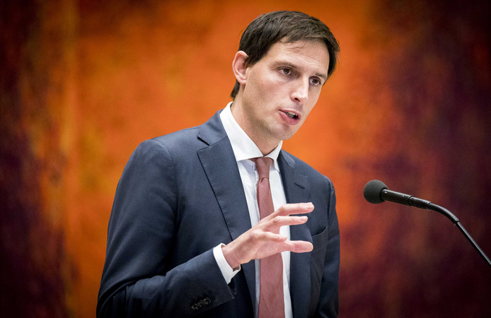 Minister Wopke Hoekstra van Financiën (CDA).