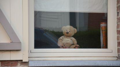 Daarom staan er hier en daar knuffelberen voor het raam