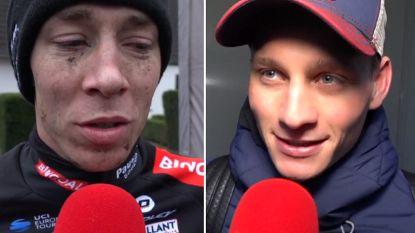 """Van der Poel in Otegem: """"Niet gefeest na Nederlandse titel"""", Sweeck: """"Blij dat ik trui heb kunnen tonen"""""""