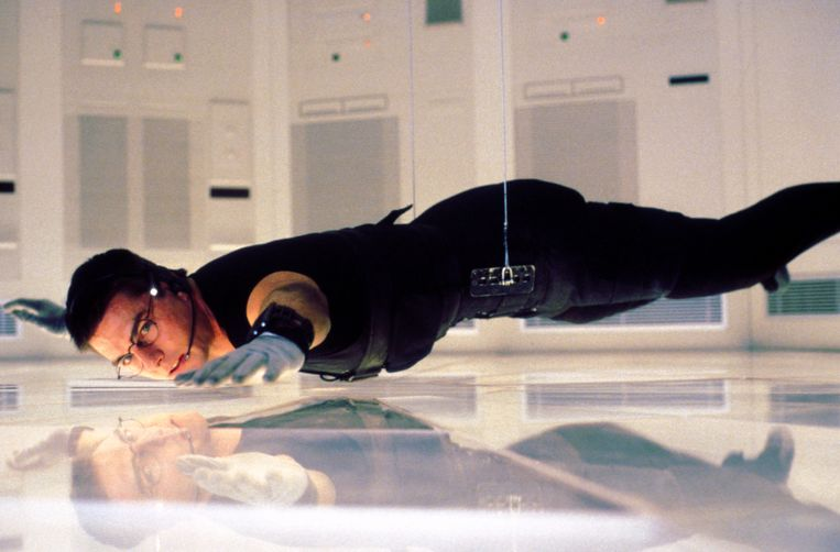 Tom Cruise in Mission Impossible
