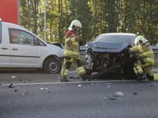 Ravage en afgesloten rijstroken door ongeluk op A28 bij Staphorst