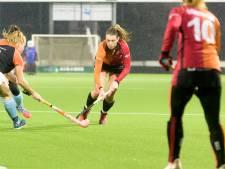 Hockeysters Oranje-Rood simpel voorbij hekkensluiter Groningen