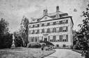 Huis Sinderen rond 1870, kort voor de afbraak.  Foto collectie Sigrid Roth geb. von Heymann
