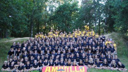 Recordbivak voor Chiro Mere: met 211 van de 250 leden op kamp
