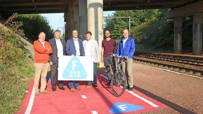 Aanleg fietssnelweg F212 is gestart en zal 3,4 miljoen euro kosten