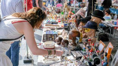 Lente Brocanterie lokt honderden geïnteresseerden