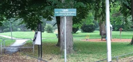 Politie waarschuwt voor gehaktballen in Almeloos park