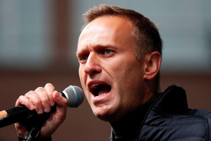 De Russische oppositieleider Aleksej Navalny.