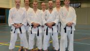 Vier zwarte gordels erbij voor karateclub Brugge
