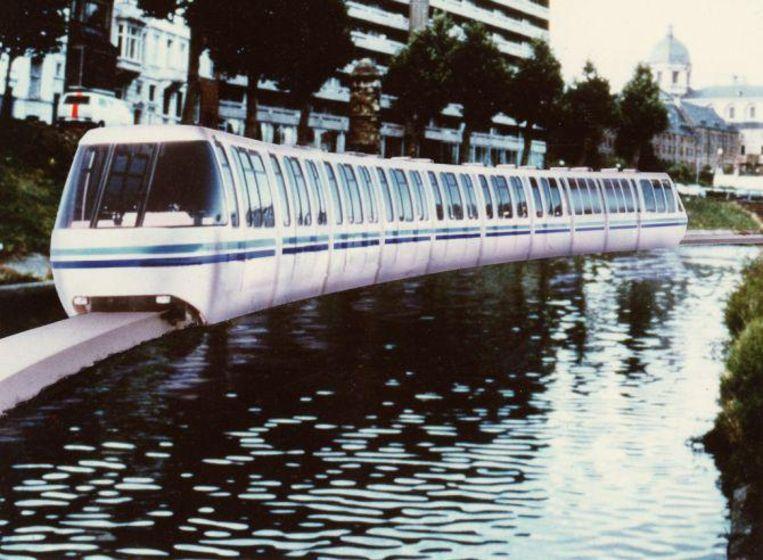 De Aquarail zoals hij in de jaren '80 werd voorgesteld.