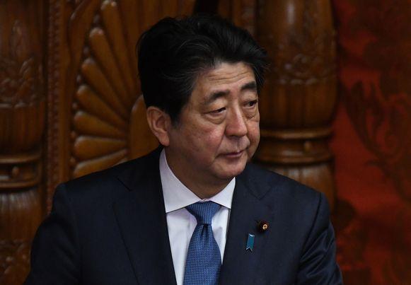 De Japanse eerste minister Shinzo Abe.