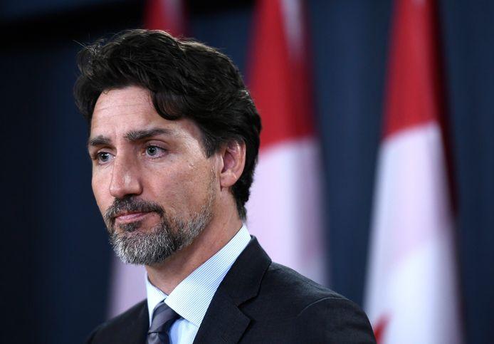 Le premier ministre canadien Justin Trudeau.