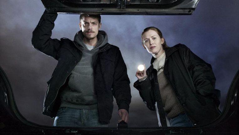 De Amerikaanse cast van The Killing.