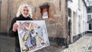 Bewoner Fons schilderde nieuwe kruisweg voor begijnhof