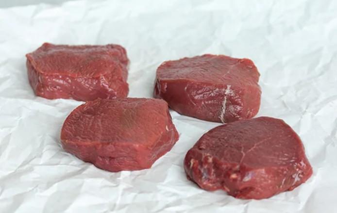 Hertenvlees.