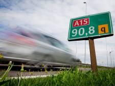 A15 tussen Sliedrecht en Gorinchem weer vrij na ongeluk